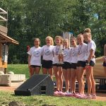 Girls XC earns runner-up trophy at Harrison Invite