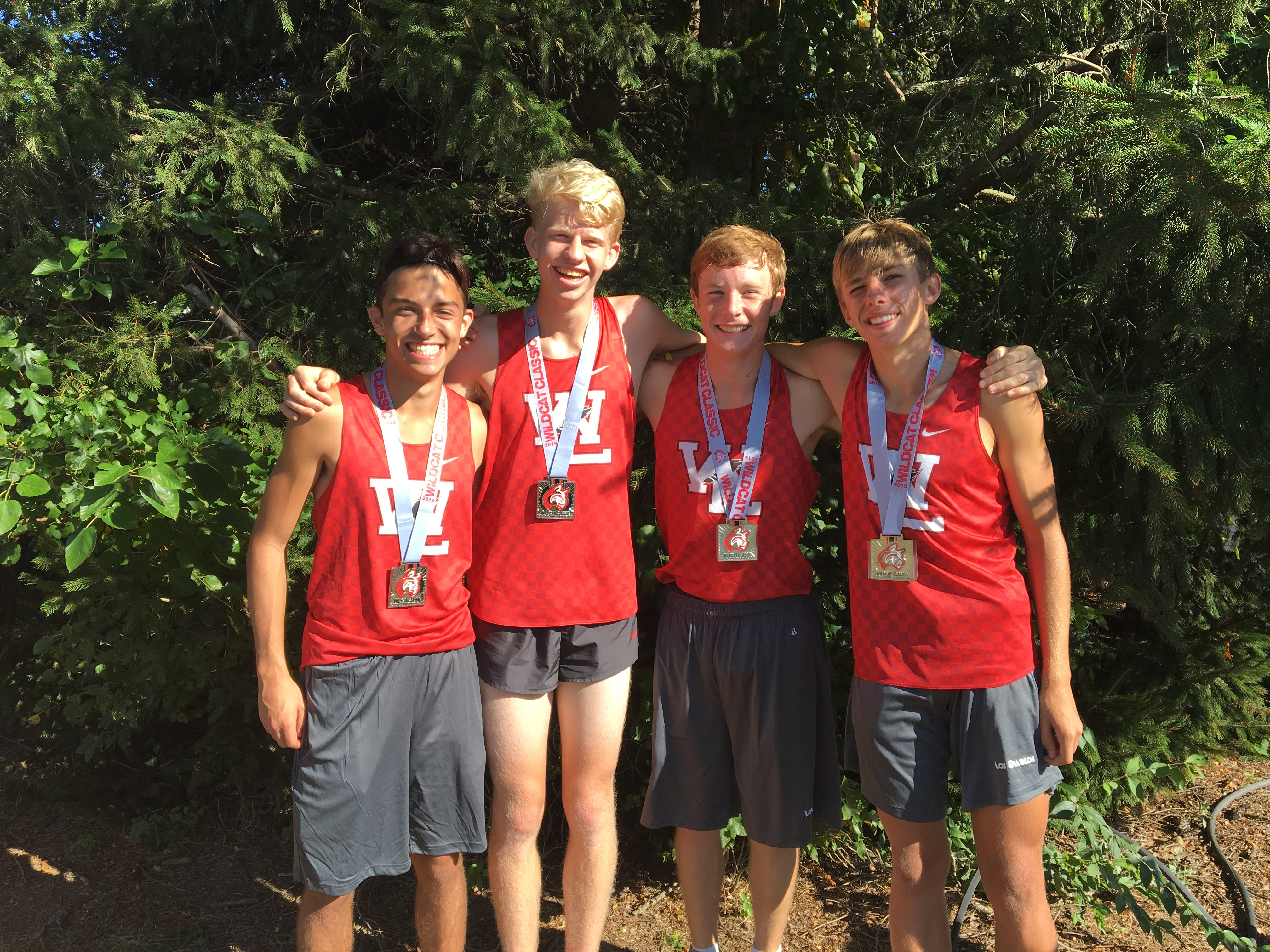 Boys earn sixth place finish at competitive Wildcat Classic