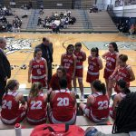 Girls Varsity Basketball falls to Laf. Cent. Catholic 57 – 50
