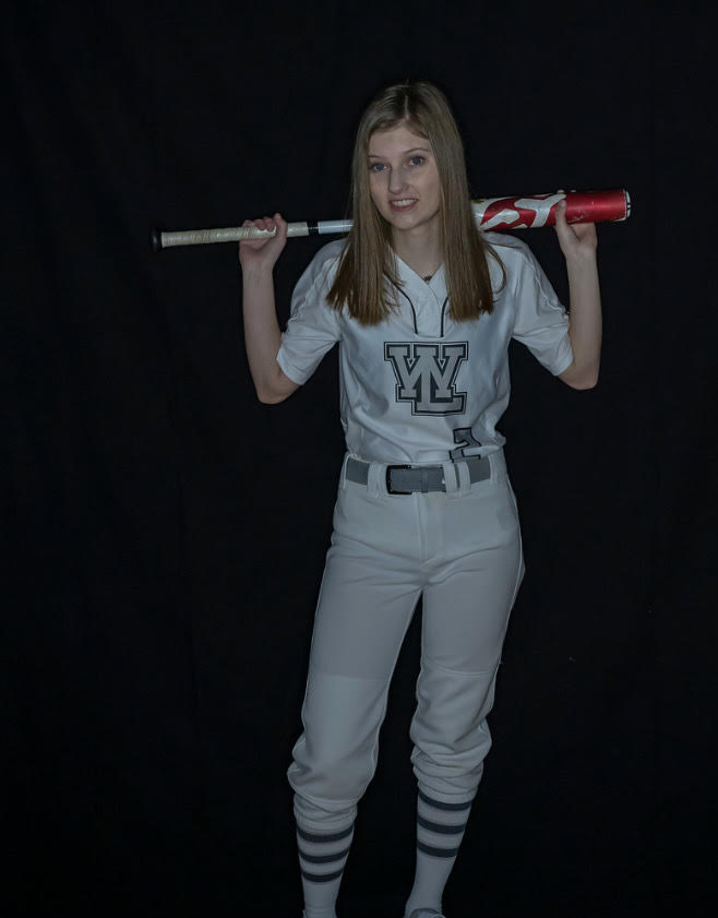 Senior Lucia Perrin – Softball