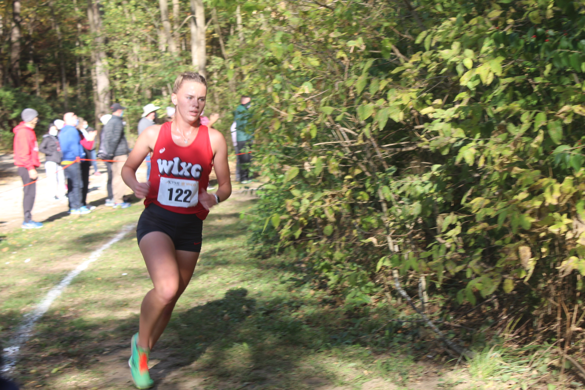 Girls XC finishes 2nd, Haley Mansfield wins individually at IHSAA Regional
