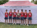 Boys XC wins IHSAA Regional title