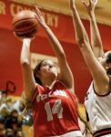 Girls Varsity Basketball falls to Lebanon 56 – 51