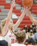 Girls Varsity Basketball beats Kokomo 46 – 40