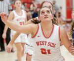 Girls Varsity Basketball beats Jeff 65 – 40
