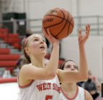 Girls Varsity Basketball falls to Northwestern 60 – 55