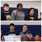 Wrestlers Mo Omonode and Connor Barket advance to state
