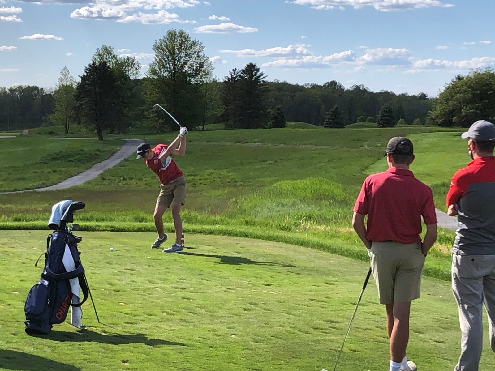 Boys Golf posts win against North Montgomery