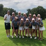 Girls Varsity Golf finishes 2nd place at lightening-shortened EKL Tournament