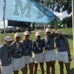 Girls Varsity Golf finishes 1st place at Overland Park Golf Course