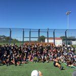 Knight's Football Team Gives Back