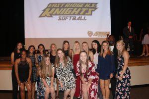 Softball Banquet 2018
