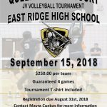 JV Volleyball Tournament – Teams needed