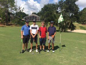 Golf 8/10/2018