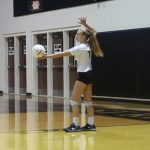 Volleyball clips the Eagles wings