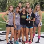 Girls Varsity Cross Country finishes 2nd place at Mount Dora Christian Invitational