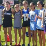 Girls Varsity Cross Country finishes 4th place at Sebastian River Invitational