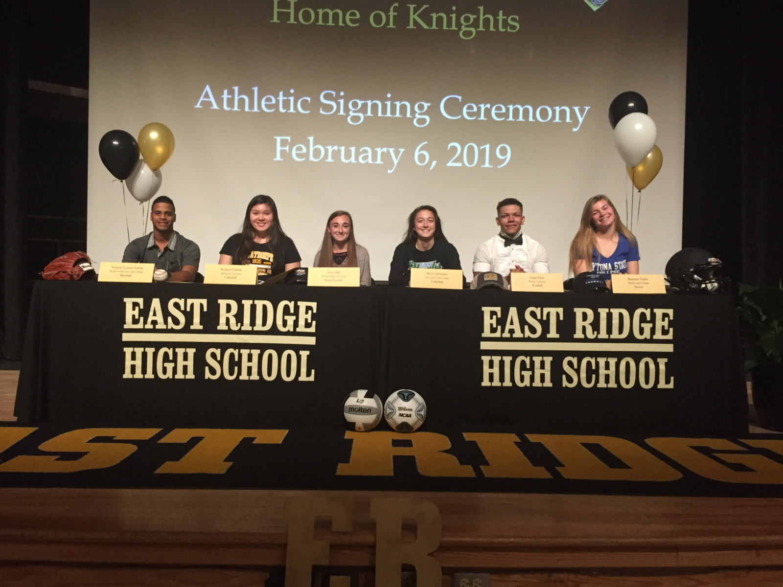 Six Knights sign on National Signing Day
