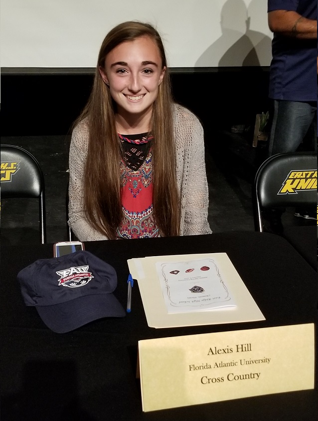 Alexis Hill signs with Florida Atlantic University