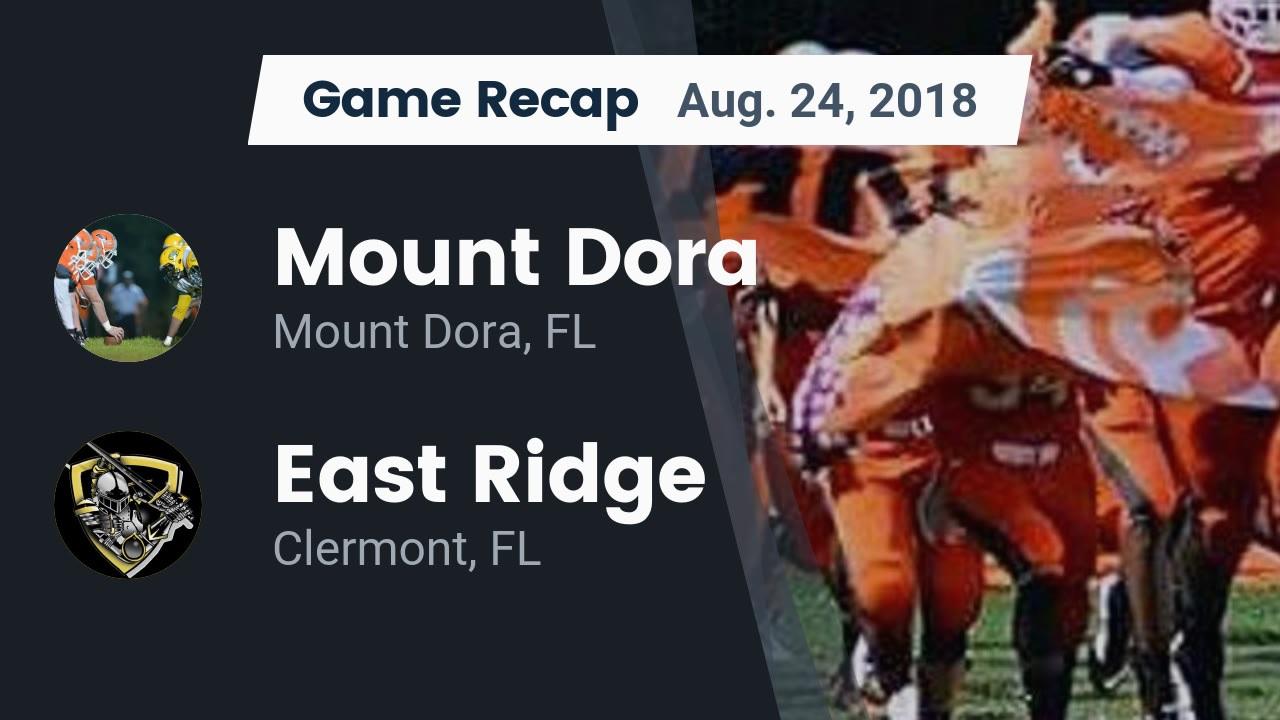 Boys Varsity Football beats Mount Dora 49 – 27