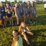Girls Varsity Cross Country finishes 12th place at Astronaut Invitational