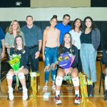 Varsity Volleyball celebrates seniors with dominating win over Lake Minneola