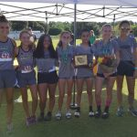 Girls Varsity Cross Country finishes 1st place at Celtic Invitational
