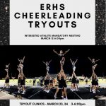 ERHS Cheer Meeting March 12th