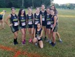 Girls Varsity Cross Country finishes 3rd place at Trinity Catholic Invitational