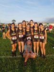 Girls Varsity Cross Country finishes 3rd place at Wildwood Cross Country Invitational