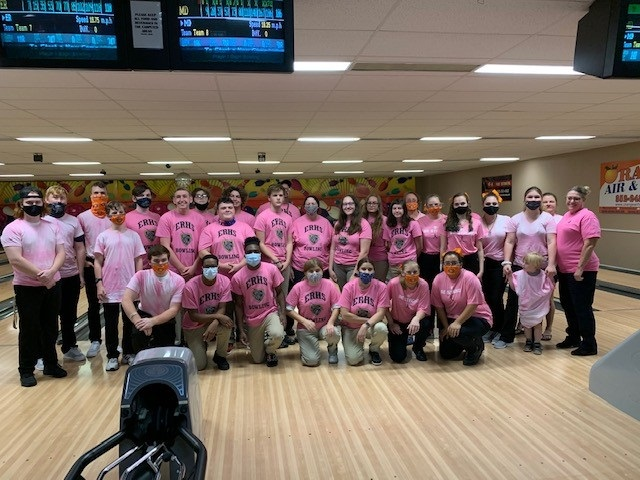 Bowling has PINK OUT