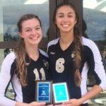 Girls Volleyball Finished 3rd in Berkeley Torunament