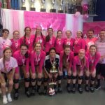 Girls Volleyball Wins Swing for a Cure Premier Division