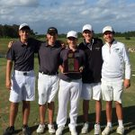 Boys Golf Wins Region Championship