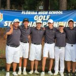 Boys Golf Finish 5th in the State