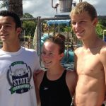 Swimmers at State Meet