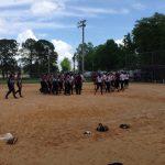Softball Defeats Montini Catholic
