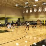 Girls' VB Dominates in home opener