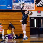 Girls' Volleyball Sweeps Tavares