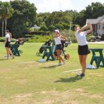 Girls' Golf Has Strong Showing Against Tough Competition