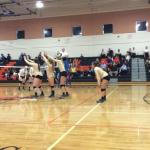 Girls' Volleyball Sweeps Leesburg