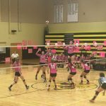 Girls' Volleyball Wins the Dig For a Cure Match against Winter Park