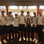 Boys' Golf Brings Home the District Championship