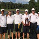 Boys' Golf Wins the Region Championship