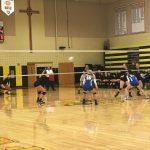 Girls' Volleyball Dominates in the Region Quarterfinal