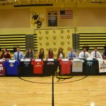 12 Hornet Athletes Sign to play in College