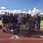Girls' JV Soccer Wins Home Tournament