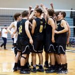 Boys' Volleyball Goes 1-4 at the DP Invitational Tournament