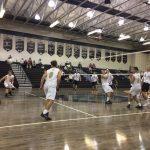Bishop Moore Catholic High School Boys Varsity Volleyball beat Olympia High School 3-0