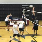 Bishop Moore Catholic High School Boys Varsity Volleyball beat Wekiva High School 3-0